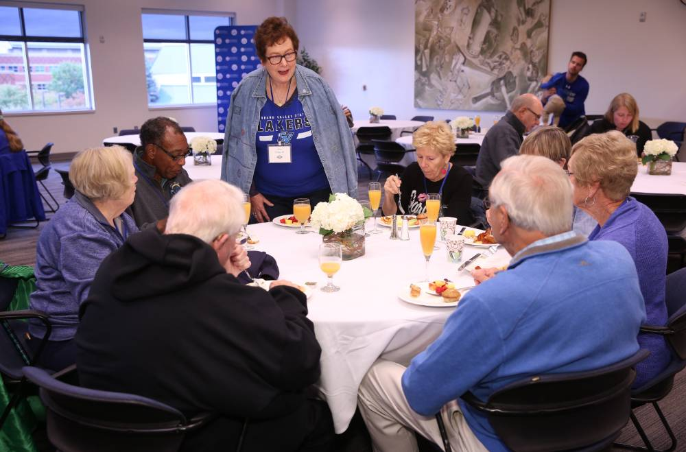 The class of 1968 had a table at the Alumni Brunch as well